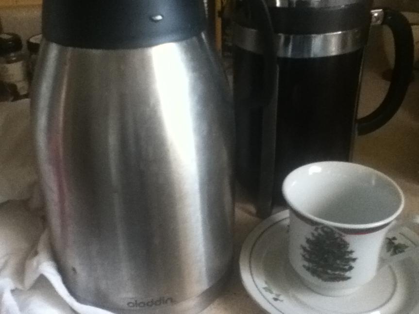 The Off Grid CoffeeWarmer