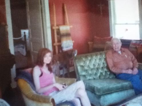 Emily and Grandpa