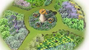 circular garden