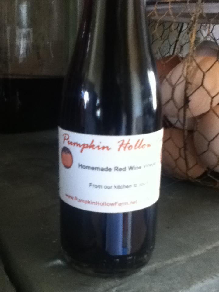 Homemade Red WineVinegar