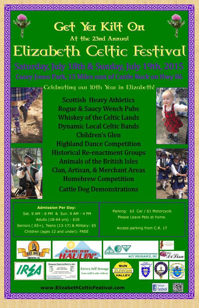 2015 celtic poster