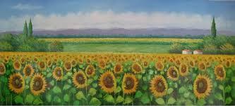 sunflower paint
