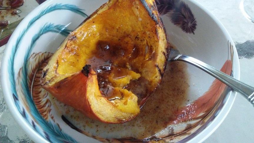 "Two Great Pumpkin Recipes; Grilled Pumpkin ""Pie"" and Pumpkin ButtermilkPie"