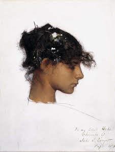 Head of a Capri Girl